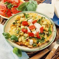 crouton-omeleta