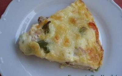 Ομελέτα – πίτσα